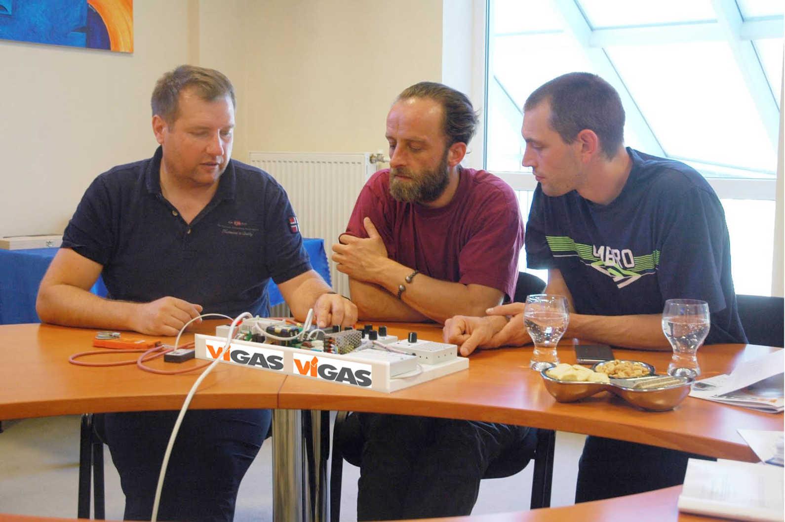Formation de nos responsables techniques chez Vigas en Slovaquie