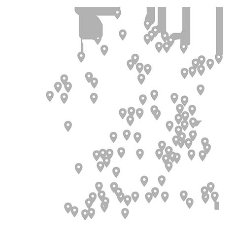 Hotcomb Distribution-carte de France installateurs