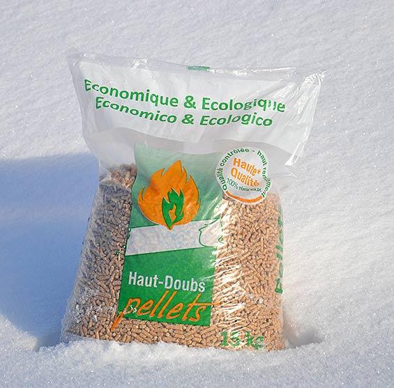 Vente de granulés bois Lons-le-Saunier source Haut Doubs Pellets