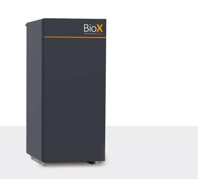 Chaudière à bûches BioX par Solarbayer